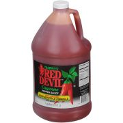 Sauce Red Devil Hotter Buffalo Style Plastic , 1 Gallon -- 4 per case