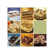 Sweet Street Shelf Stable Big 7 Layer Brownie Bar, 9 Slice -- 8 per case.
