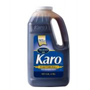 Karo Corn Syrup Blue Label Blend Dark 1 Gallon -- 4 Case