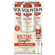 Volpi Roltini Singles with Pepperoni Pork - Display Ready Carton, 0.8 Ounce -- 24 per case.