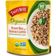 Tasty Bite Brown Rice with Quinoa and Lentils, 8.8 Ounce -- 12 per case