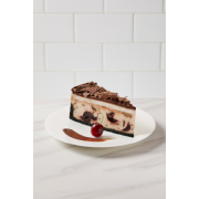 The Dream Factory 10 Inch Chocolate Cherry cheesecake, 80 Ounce -- 2 per case.