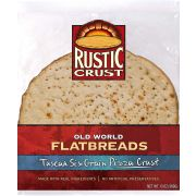 Rustic Crust Tuscan Six Grain Pizza Crust, 12 inch -- 8 per case.