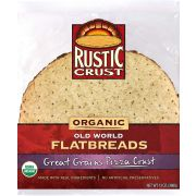 Rustic Crust Organic Great Grains Pizza Crust, 12 inch -- 8 per case.