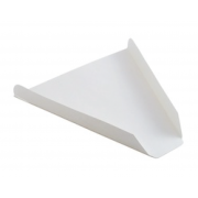 Orion White Pizza Slice Tray -- 1000 per case.