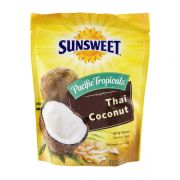 Sunsweet Thai Coconut Chips, 3 Ounce Pouch -- 8 per case.
