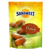 Sunsweet Pitted Dates, 8 Ounce Pouch -- 8 per case.