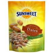 Sunsweet Chopped Dates, 8 Ounce Pouch -- 8 per case.