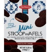 Daelmans Chocolate Mini Stroopwafel - Stand Up Pouch, 5.29 Ounce -- 10 per case.