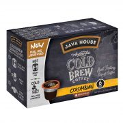 Java House Colombian Black Authentic Cold Brew Coffee Pod, 1.35 Ounce -- 6 per case.