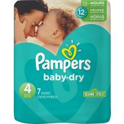 Pampers Size 4 Baby Dry Diaper -- 48 per case.