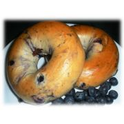 Burry Food Thaw N Serve Blueberry Bagel, 3 Ounce -- 90 per case.