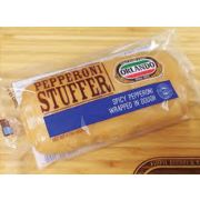 Burry Individually Wrapped Pepperoni Dough Roll, 4.25 Ounce -- 12 per case