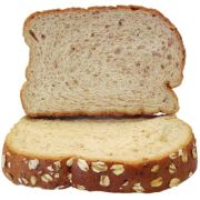 Burry 9 Grain with Oat Topping Bread Loaf, 28 Ounce -- 8 per case.