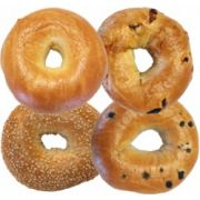 Burry Sliced Bagels - Variety Pack, 4 Ounce -- 36 per case