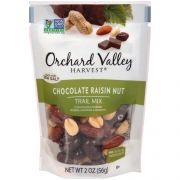 Orchard Valley Trail Mix Chocolate Raisin, 2 Ounce -- 30 per case.