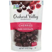 Orchard Valley Harvest Cherries Dark Chocolate, 19 Ounce -- 14 per case