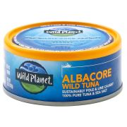 Wild Planet Foods Albacore Wild Tuna, 5 Ounce -- 12 per case