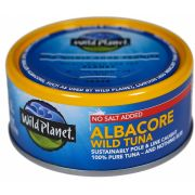 Wild Planet Foods Albacore No Salt Wild Tuna, 5 Ounce -- 12 per case