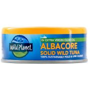 Wild Planet Foods Albacore Solid Wild Tuna, 5 Ounce -- 12 per case