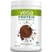 Vega Protein Made Simple Dark Chocolate Flavored Drink Mix, 9.6 Ounce -- 12 per case