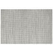 Front Of The House Silver Metroweave Basketweave Mat, 24 x 16.25 inch -- 12 per case