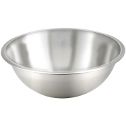 Winco Economy Stainless Steel Mixing Bowl, 30 Quart -- 12 per case