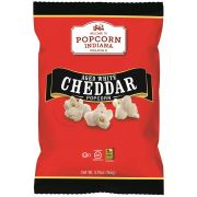 Popcorn Indiana Aged White Cheddar Popcorn, 5.75 Ounce -- 12 per case