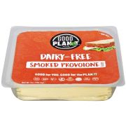 Good Planet Foods Plant Based Smoked Provolone Cheese Slices, 7 Ounce -- 12 per case