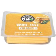 Good Planet Foods Plant Based Cheddar Cheese Slices, 7 Ounce -- 12 per case