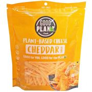 Good Planet Foods Plant Based Cheddar Cheese Shreds, 7 Ounce -- 12 per case