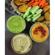 Zacca Roasted Red Pepper Hummus, 10 Ounce Container -- 6 per case