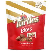 Turtles Original Pecan Bite Size Nut Cluster - Stand Up Pouch, 6.3 Ounce -- 8 per case
