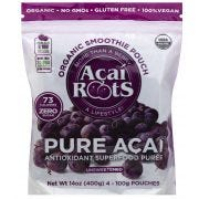 Acai Roots Organic Premium Pure Acai Puree -- 64 per case.