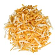 Sorrento Shredded Monterey Jack and Cheddar Cheese, 5 Pound -- 6 per case.