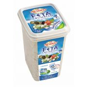President Regular Plain Crumbled Feta Cheese, 24 Ounce -- 12 per case