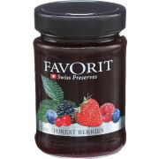 Favorit Forest Berries Swiss Preserve, 12.3 Ounce -- 6 per case