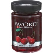 Favorit Red Cherry Swiss Preserve, 12.3 Ounce -- 6 per case