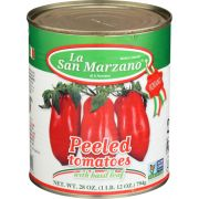 La San Marzano Peeled Tomatoes, 28 Fluid Ounce -- 6 per case