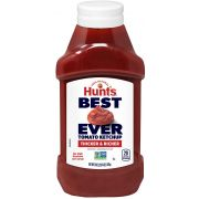 Hunts Best Ever Tomato Ketchup, 38 Ounce Bottle -- 12 per case.