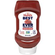 Hunts Best Ever Tomato Ketchup, 14 Ounce Bottle -- 12 per case.
