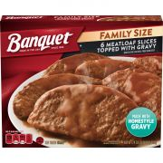 Banquet Meat Loaf with Gravy, 24 Ounce -- 6 per case.