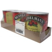 Musselmans York Imperial Sliced Apples, 112 Ounce -- 3 per case.