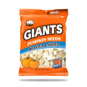 Giants Roasted and Salted Pumpkin Seed - Clip Strip, 515 Ounce -- 24 per case