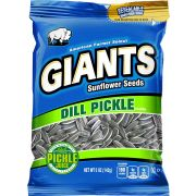 Giants Dill Pickle Sunflower Seeds Snacks - Clip strip, 5 Ounce -- 24 per case