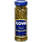 Goya Span Nonpareils Capers, 2.50 Ounce -- 12 per case.