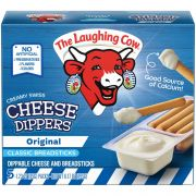 Laughing Cow Original Swiss Cheese Dippers with Breadsticks, 6.17 Ounce -- 6 per case.