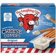 Laughing Cow Tomato and Herb Swiss Cheese Dippers with Breadsticks, 6.17 Ounce -- 6 per case.
