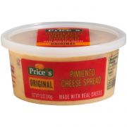 Prices Original Pimiento Cheese Spread, 12 Ounce Cup -- 12 per case.
