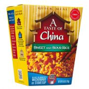 A Taste of China Sweet and Sour Rice, 6 Ounce -- 6 per case.